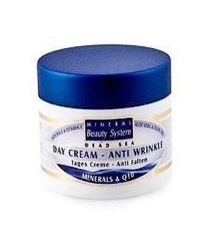 Mineral Beauty Denní krém proti vráskám s Q10 a minerály z Mrtvého moře