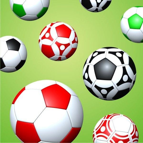 CamelLeon Dětský polštář - Fotbalové míče 45 Varianta Povlak na polštář 45, Počet bal. 1