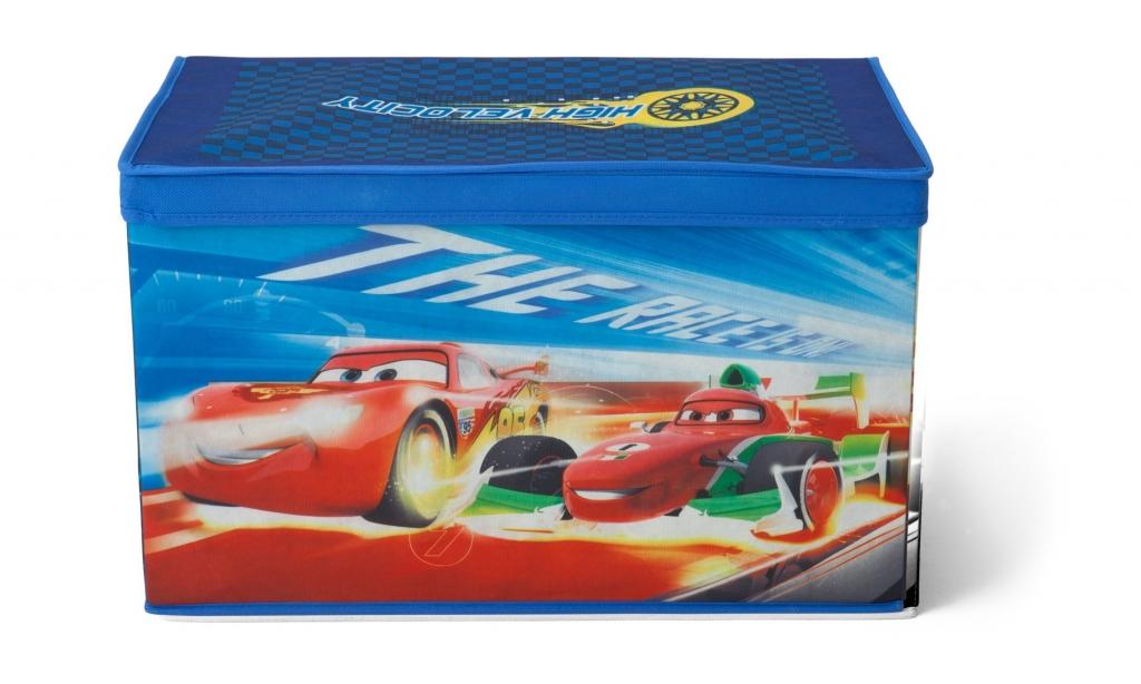 Delta Látková truhla na hračky Auta-Cars Varianta Látková truhla na hračky Cars TB84834CR, Počet bal. 1