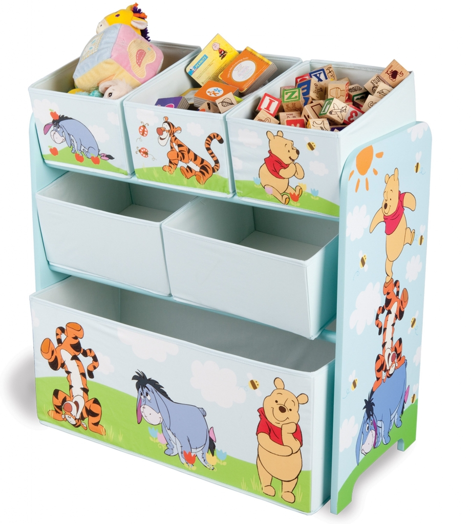 Delta Organizér na hračky Medvídek Pú