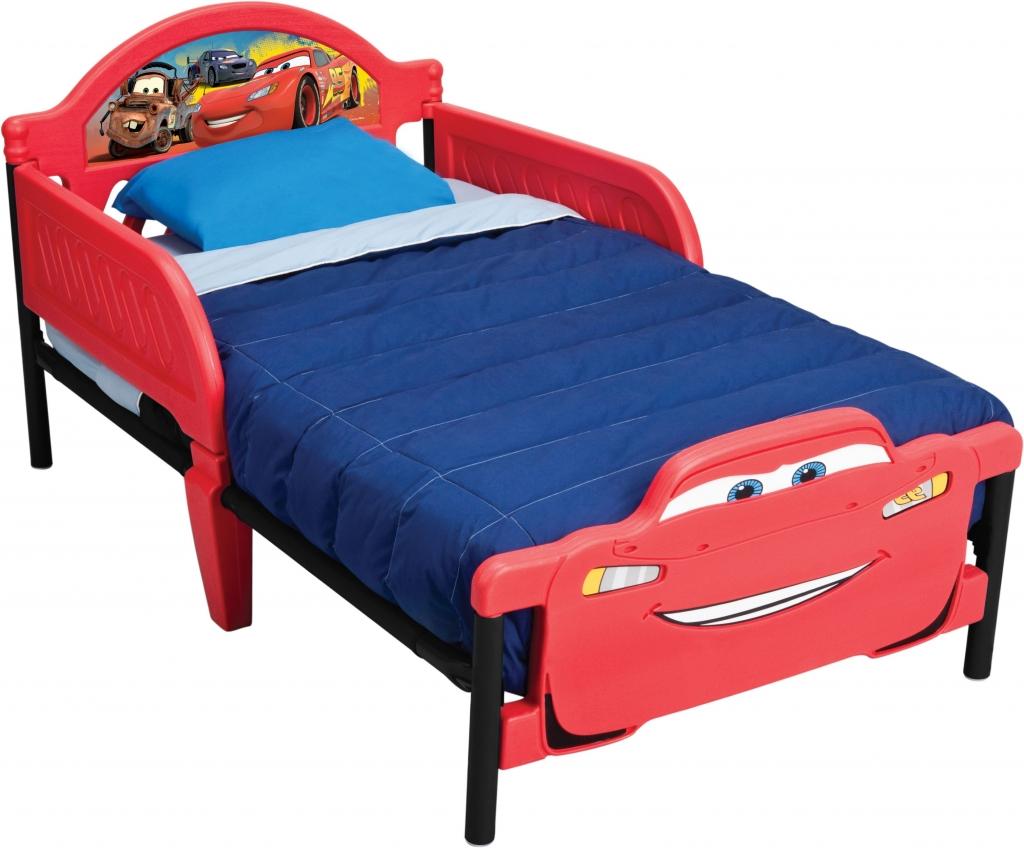 Delta Dětská postel Auta-Cars 2