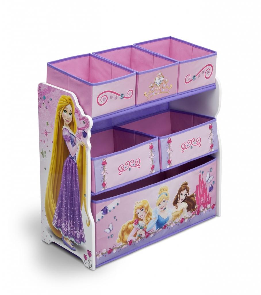 Delta Organizér na hračky Princezny-Princess II