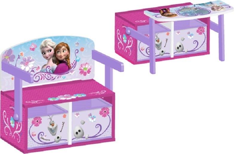 Delta Dětská lavice s úložným prostorem Ledové království - Frozen