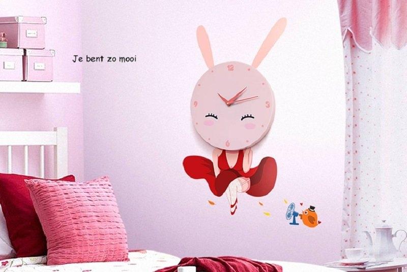 JP In Trade Dětské hodiny Roztomilý králíček