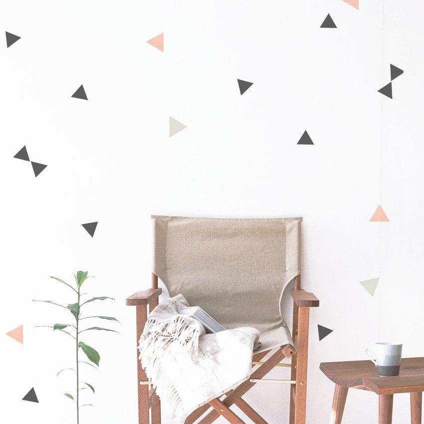 Dekornik Dekorace na zeď DEKORNIK - Trojúhelník