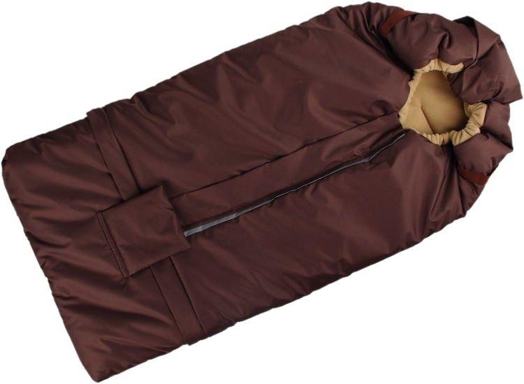 Kaarsgaren s.r.o. Fusak hnědo-béžový s fleece podšívkou