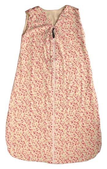 Kaarsgaren s.r.o. Letní spací pytel bambus kytičky růžové 90 cm