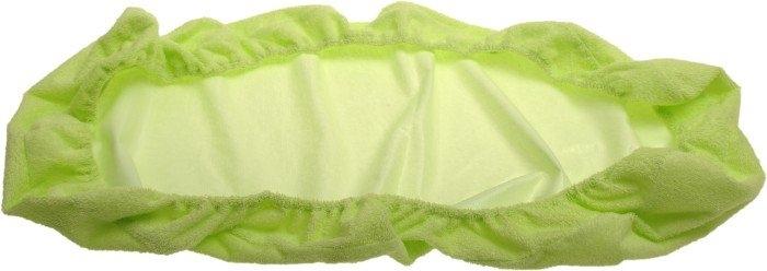 Kaarsgaren s.r.o. Nepropustné froté prostěradlo zelené 70 x 160 cm