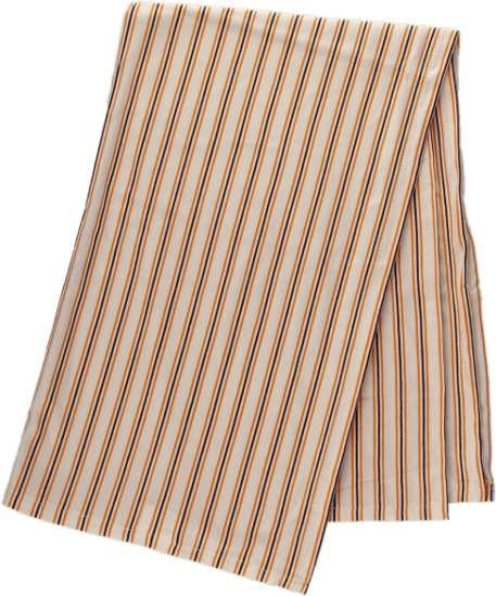Kaarsgaren s.r.o. Deka bambus oranžovo hnědý proužek 100 x 135 cm