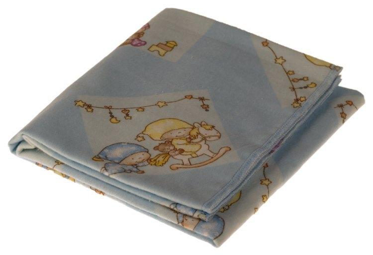 Kaarsgaren s.r.o. Flanelová plena modrá miminka