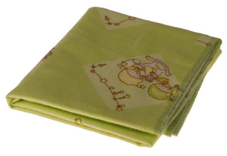 Kaarsgaren s.r.o. Flanelová plena zelená miminka