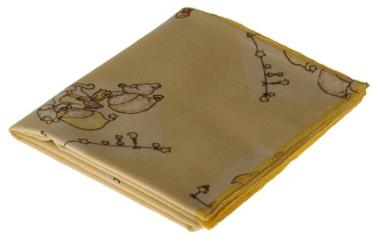 Kaarsgaren s.r.o. Flanelová plena žlutá miminka