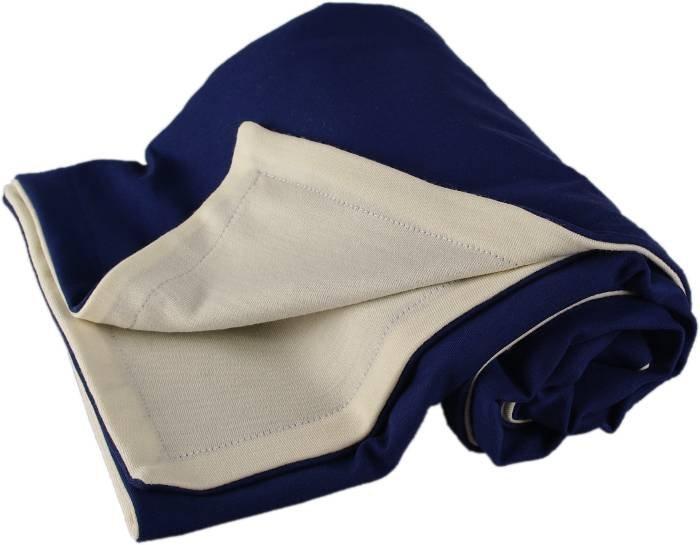 Kaarsgaren s.r.o. Dětská merino deka modrá