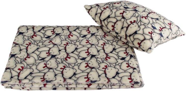 Kaarsgaren s.r.o. Velká deka s polštářem medvědi
