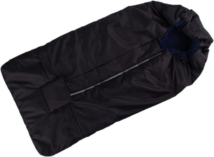 Kaarsgaren s.r.o. Fusak černo-tmavomodrý s fleece podšívkou