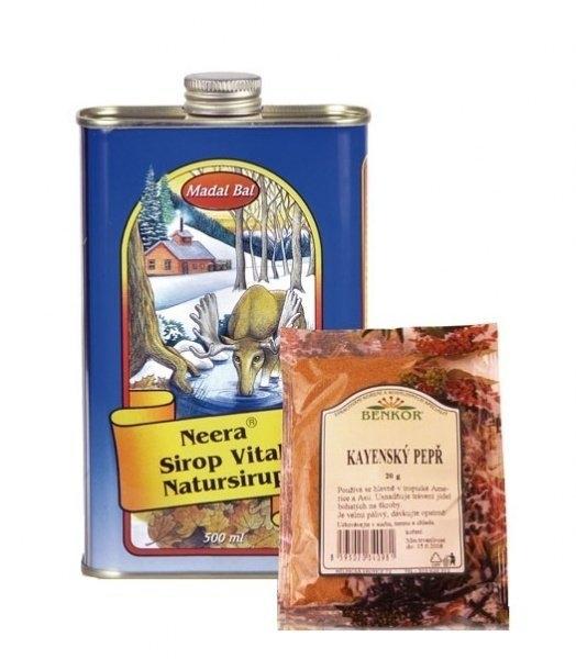 Neera Detox přírodní stromový sirup 1 litr