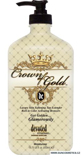 Devoted Creations Hydratační krém s bronzery Crown of Gold