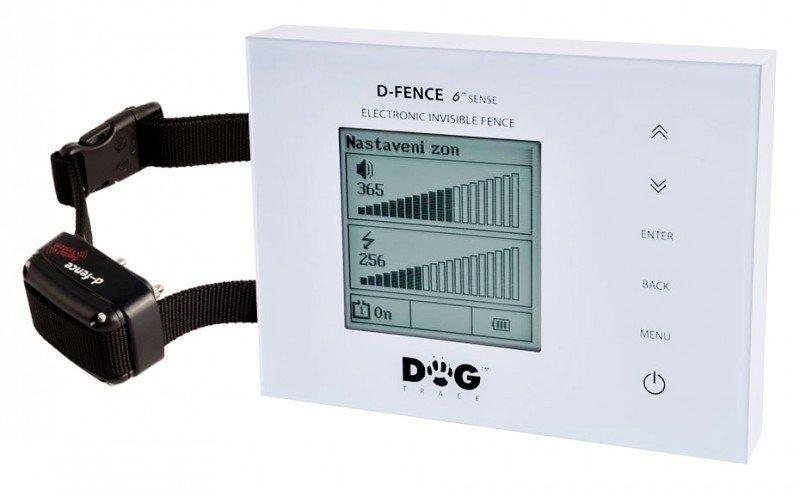 Dogtrace Elektronický neviditelný plot D-fence 202 white