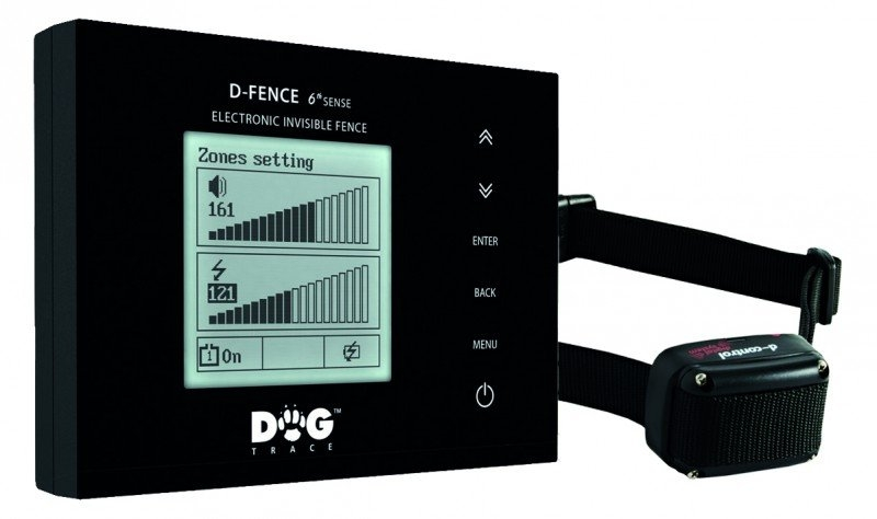 Dogtrace Elektronický neviditelný plot d-fence 202 black