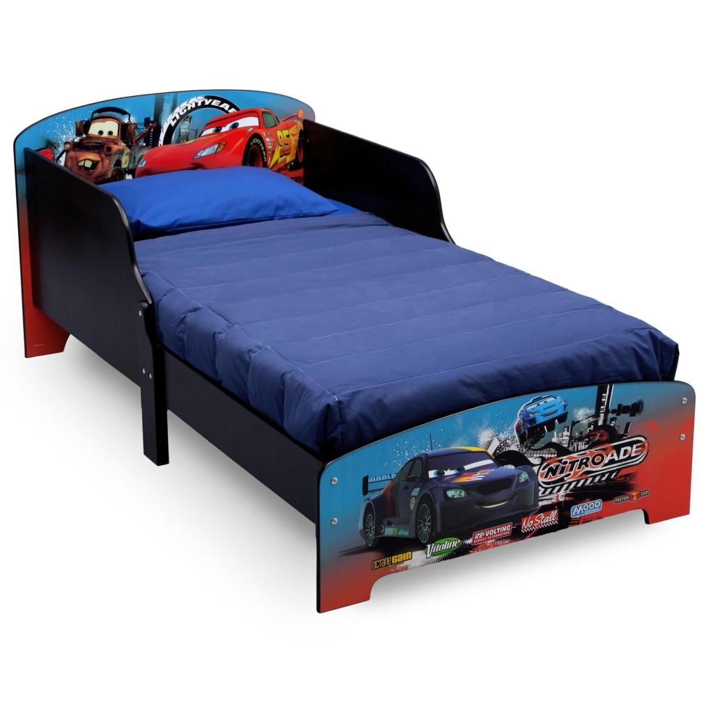 Delta Dětská dřevěná postel Auta-Cars 2