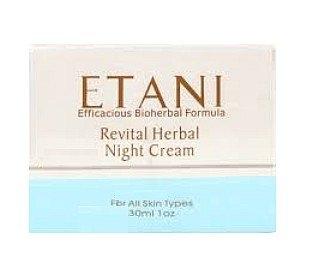 Etani Noční revitalizační krém Etani