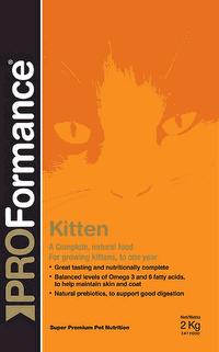 PROFormance Superprémiové krmivo pro kočky Kitten