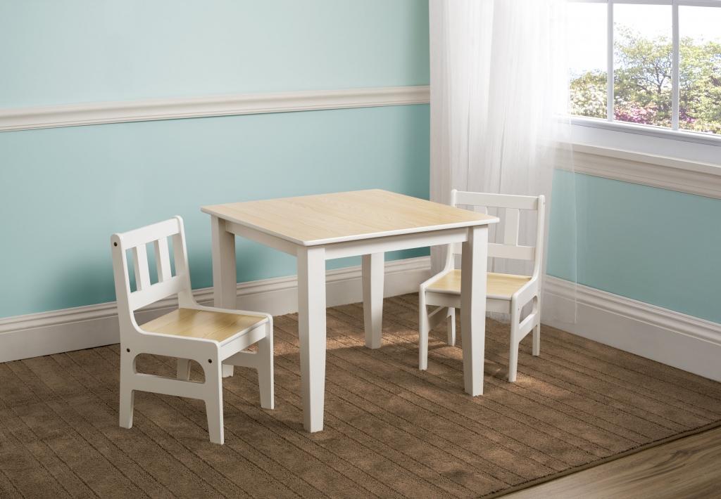 Delta Dětský stůl s židlemi natural Varianta natural TT89512GN, Počet bal. 1