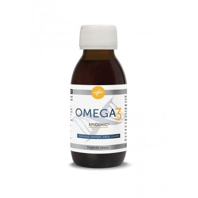 Blue step Omega 3 Epigemic 200 ml - doplněk stravy