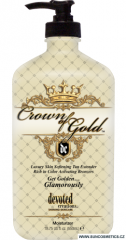 Devoted Creations Hydratační krém s bronzery Crown of Gold