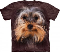 The Mountain Tričko Yorkshire Terrier Face